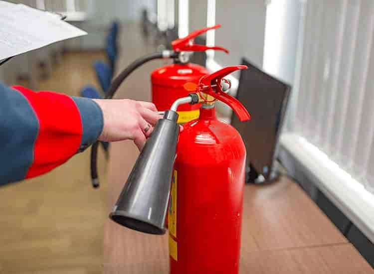 Fire extinguisher manufacturing process