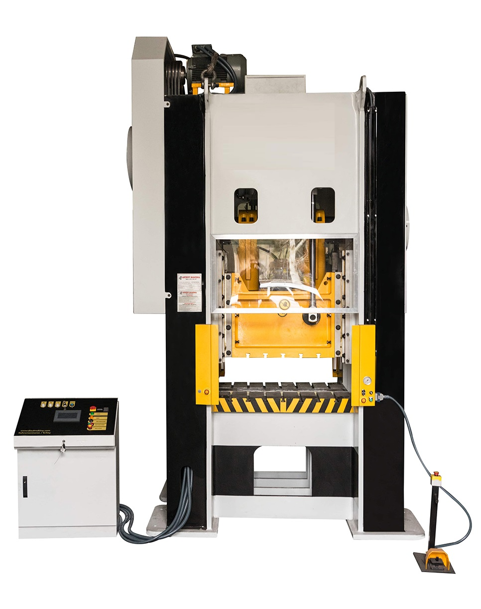Oil filter manufacturing with our 250 T mechanical eccentric press