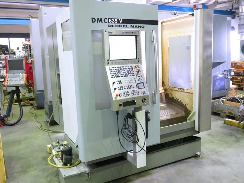 Deckel Maho 635 V Vertical Machining Center Delivery