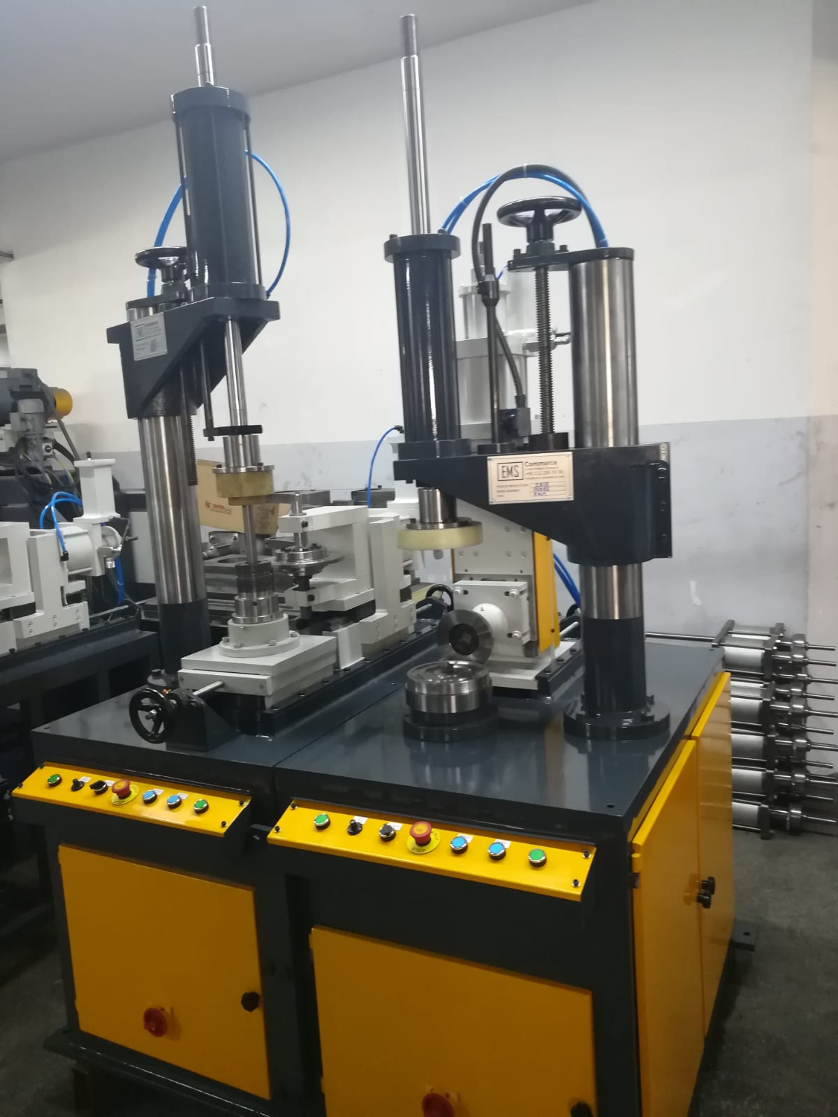 Trimming and Forming Machine for Metal Sheet