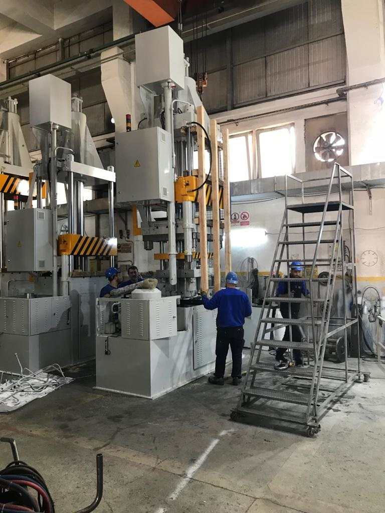 Delivery of 250 T Press