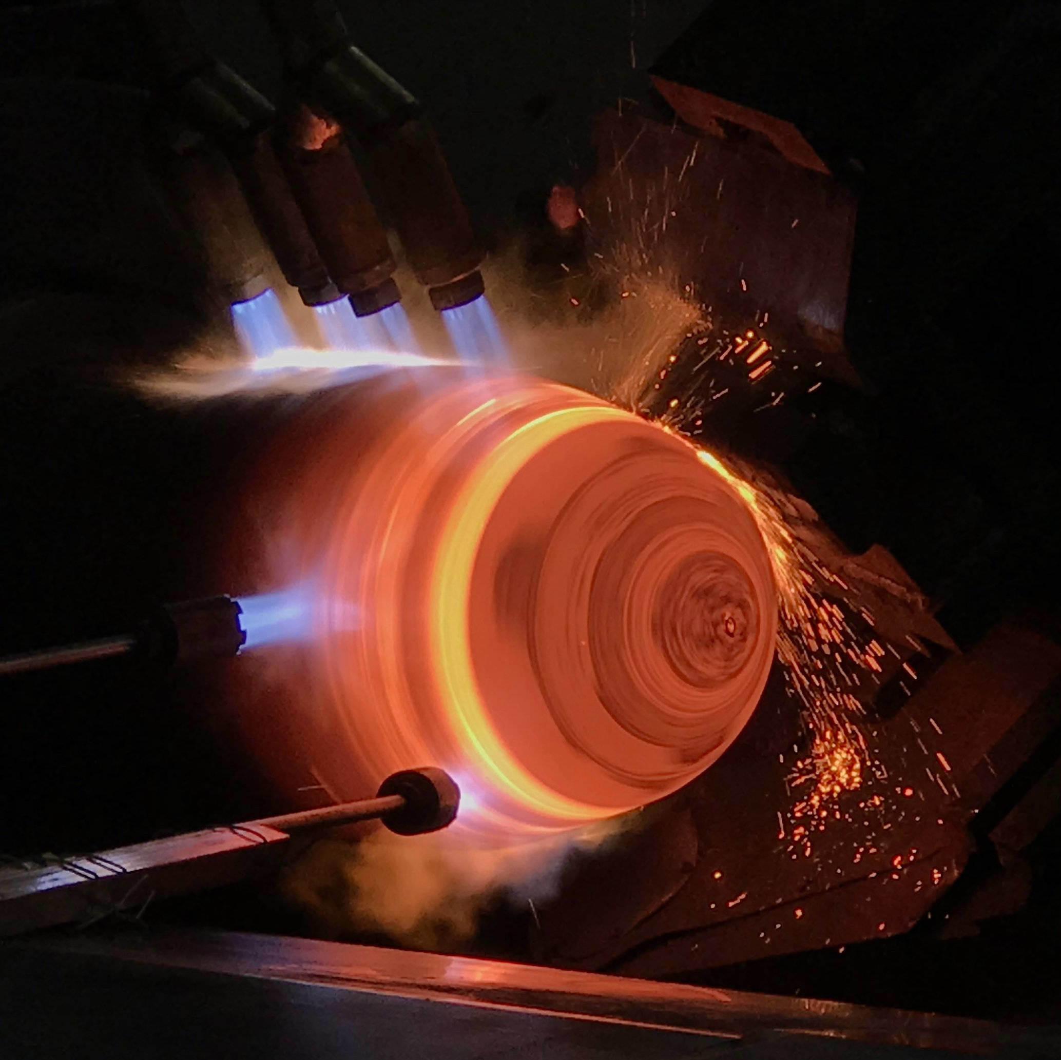 Hot Spinning Machine for LPG Tanks