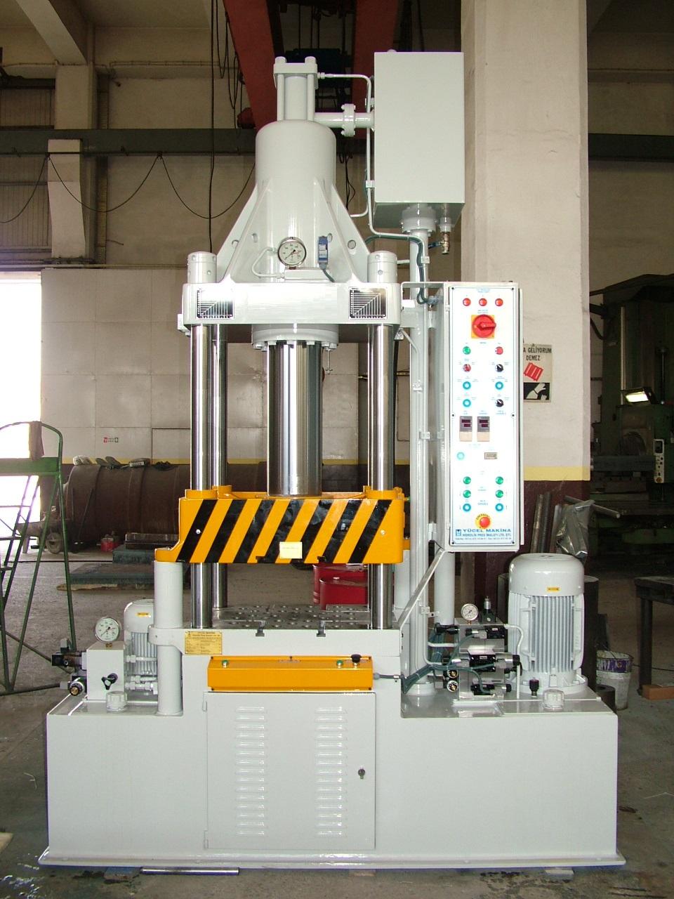 Hidrolik sıvama presi 100-40 Ton