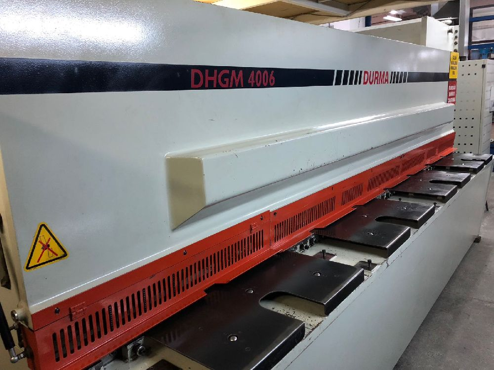 Used Durma Shear Cut Press